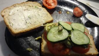 Veggie Sandwich!